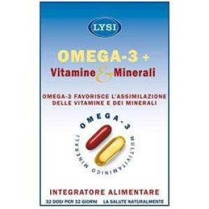 OMEGA3 32CPS+VIT&MIN 32CPR IDE