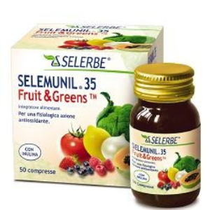 SELEMUNIL 35 FRUIT&GREENS50CPR