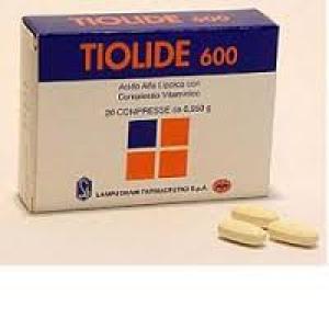 TIOLIDE 600 20CPR